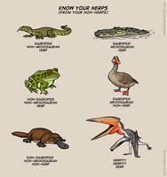 Know your herps (from your non-herps)