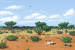 Eibarian scrubland