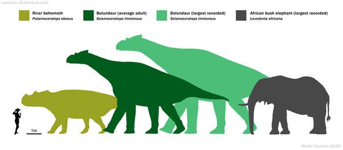 Giant ceratopsians of Spec Asia