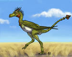 Smaugust: Cursorial Biped