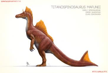 Titanosaurus, the spinosaurid kaiju