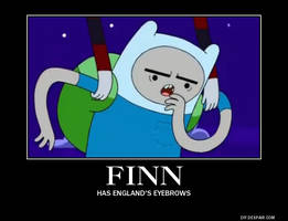 Finn Demotivational by DragonetteEye