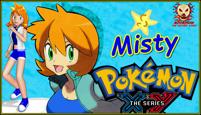 mmd misty xy anime pokemon style by scorpionntl on deviantart