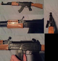 AK-47 Toy Sound Gun by Nohomers48