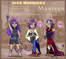 Mice Warrior - Maureen|OPEN!| by MilenaHide