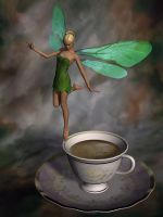 Coffee Fairy By Stronghands07-d9l64r7