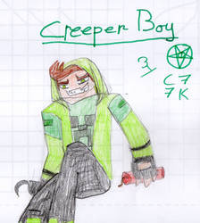Creeper Boy by capoeirakid77