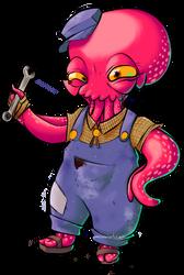 Drawctopus by personalartdump