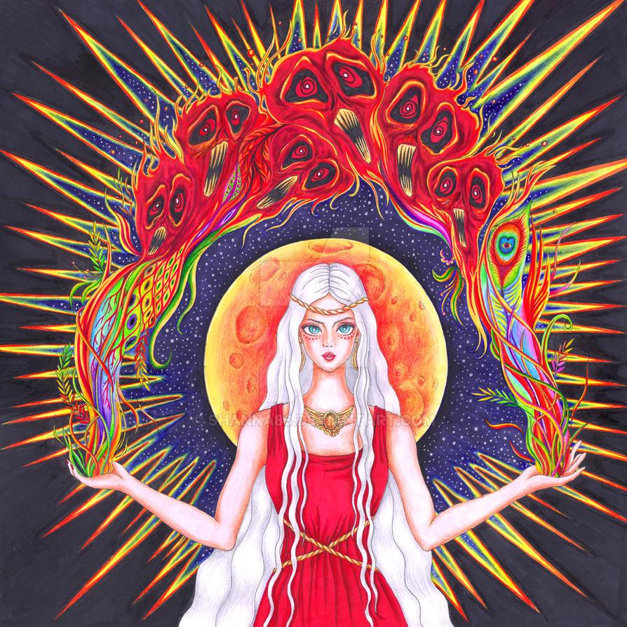 Moon Goddess by Shanna83