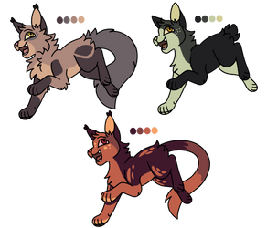 Cat Adoptables Paypal and Points (2/3 OPEN)