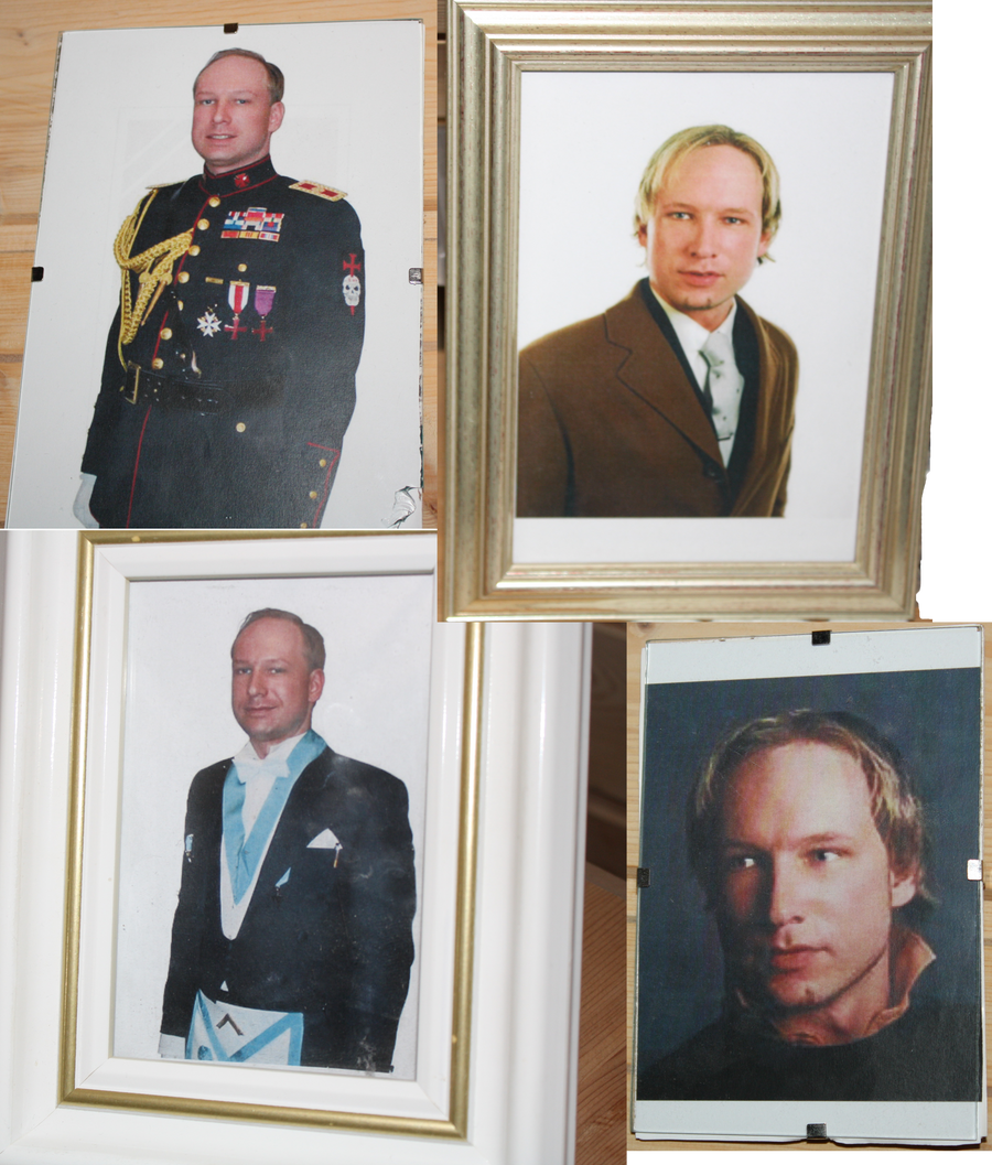 Commander Anders Behring Breivik, framed pictures by werewolfme2