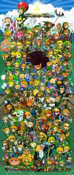 Zelda Massive Item Collab by Felolira