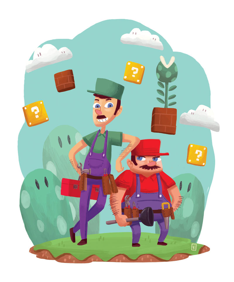 Welcome to Mushroom Kingdom by Felolira
