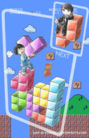 Do you tetris with others? by Felolira