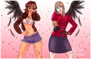 2p!Sisters Redone by Zaphodiop