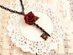 Rosarium Key Necklace