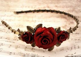 Rosarium Headband v2 by Necrosarium