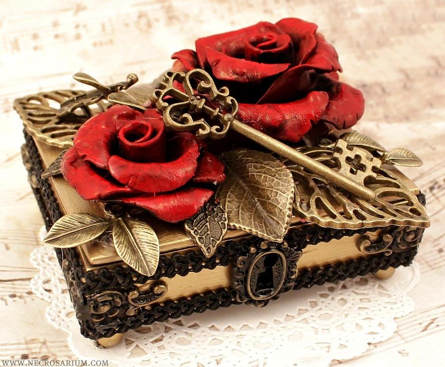 Mini Jewelry Box 2 by Necrosarium