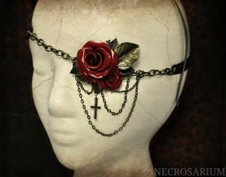 Visual Rose Eyepatch v2 by Necrosarium