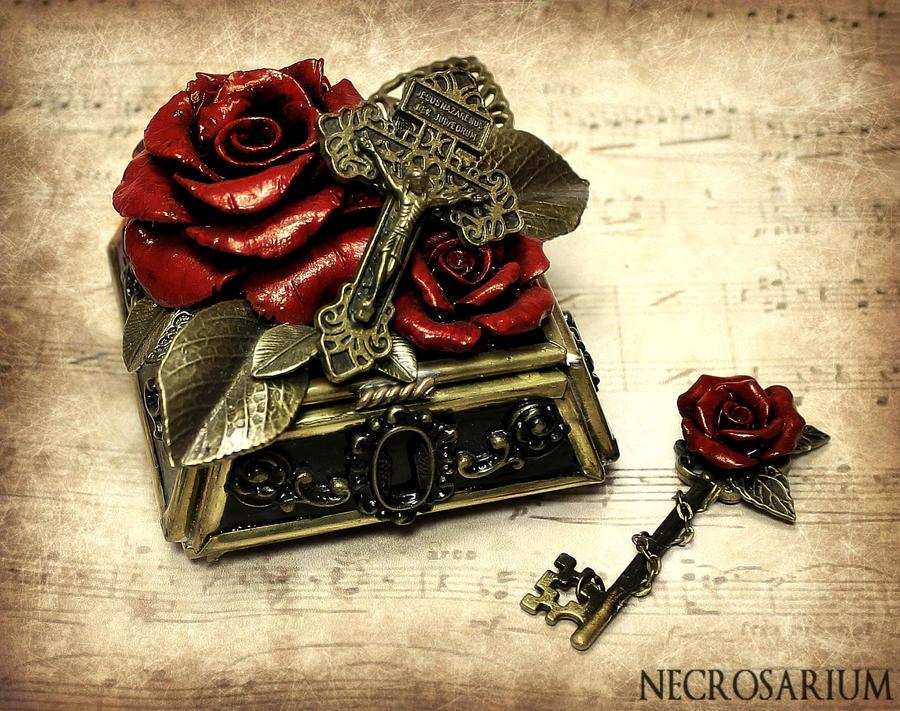 First Rosarium Jewelry Box by Necrosarium on DeviantArt