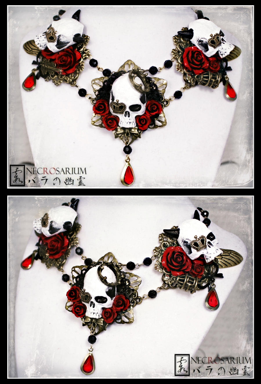 The Three Gates Collar by Necrosarium