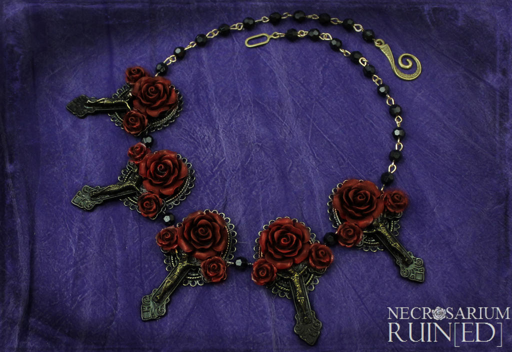 Vampire's Requiem Necklace v2 by Necrosarium