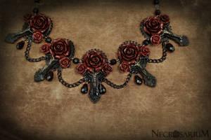 Vampire's Requiem Collar Red by Necrosarium