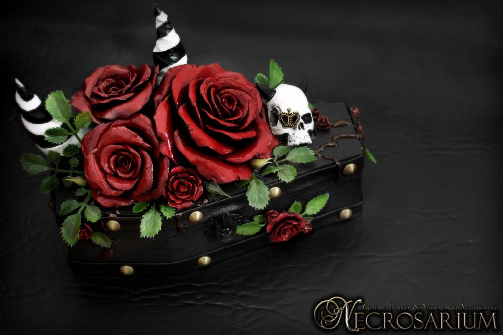 Vampires Rosarium Coffin Jewelry Box by Necrosarium on DeviantArt
