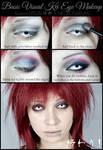 Simple Visual Kei Eye Makeup Tutorial