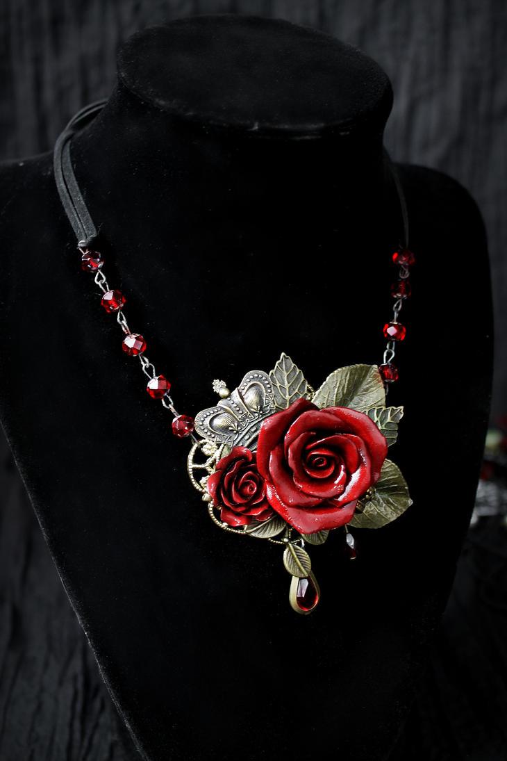 Rosarium Necklace 14 by Necrosarium