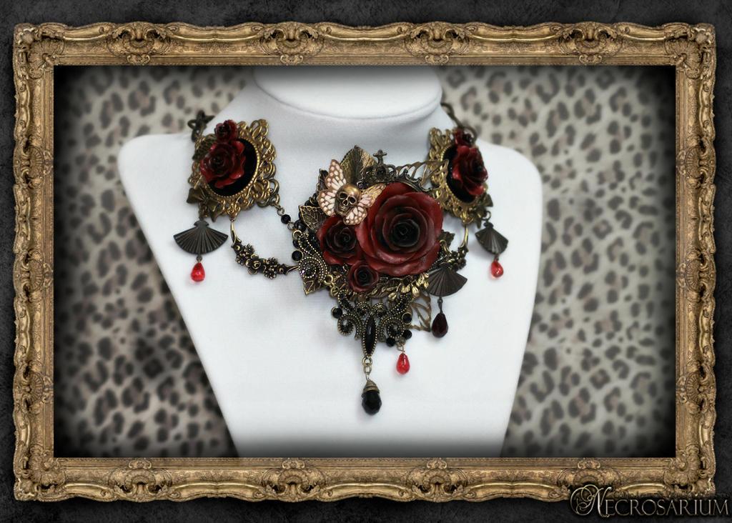 Versailles Rose Necklace 1