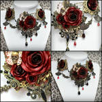 Versailles Rose Necklace 1 Multi View