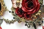 Versailles Rose Necklace 1 Detail 1