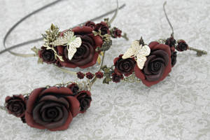 Versailles Rose Headbands