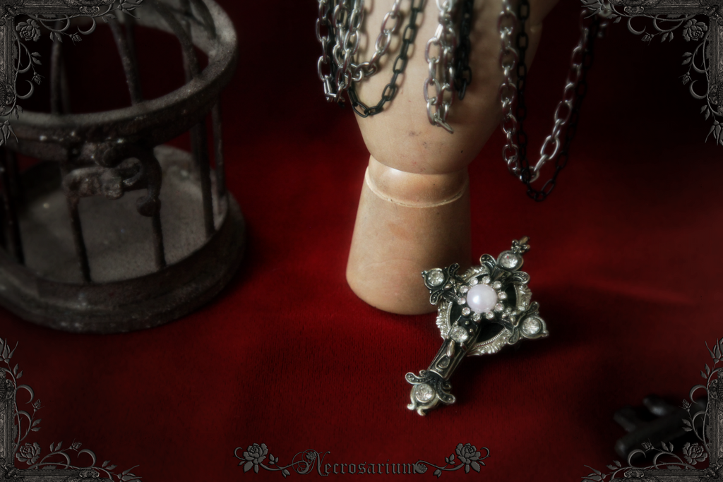 Argentum Ring by Necrosarium