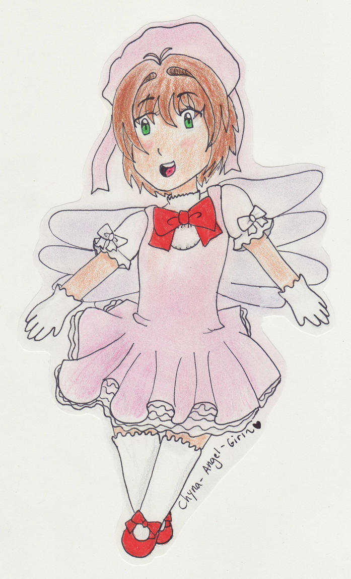 Cardcaptor Sakura b-day card by Chyna-Angel-Girl