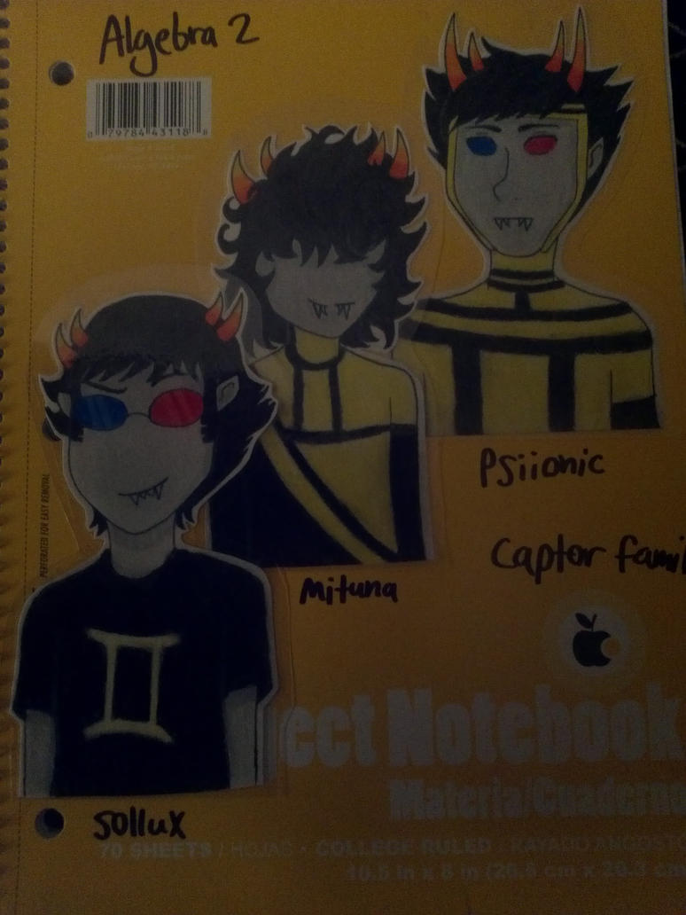 Homestuck Notebooks - Captors by Chyna-Angel-Girl