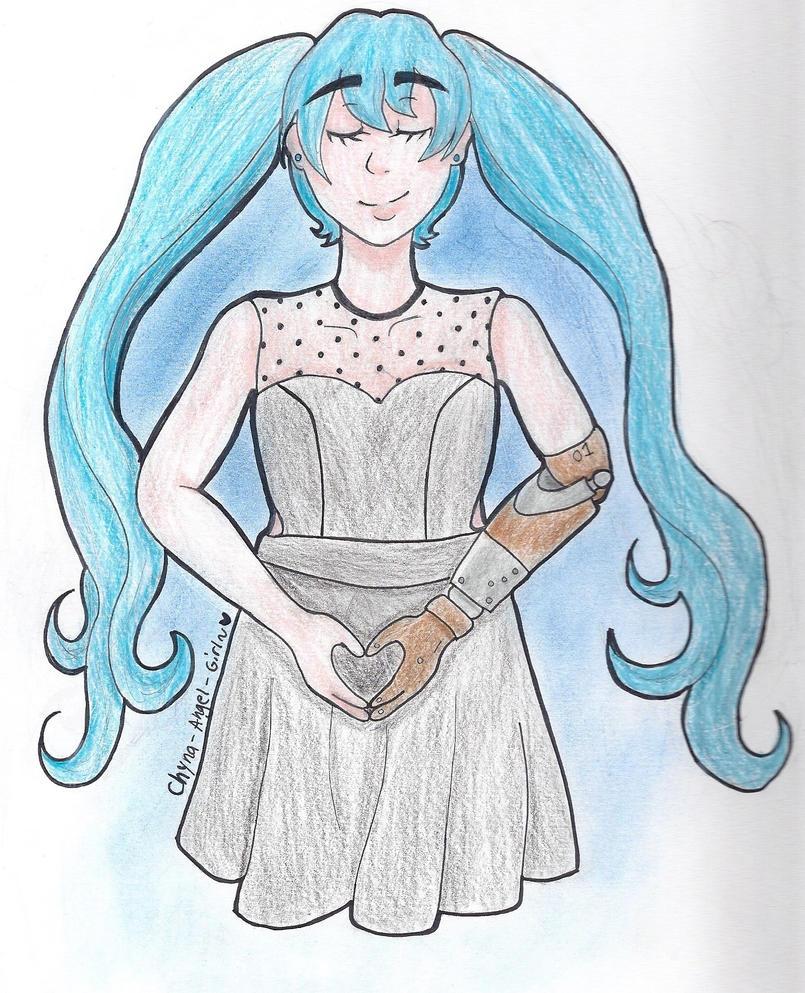 Prosthetic Miku by Chyna-Angel-Girl