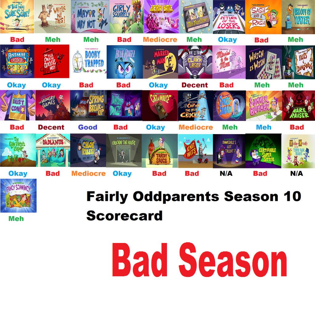 Fairly Odd Parents Photos the fairly oddparents season 10 scorecarddomainmorph on