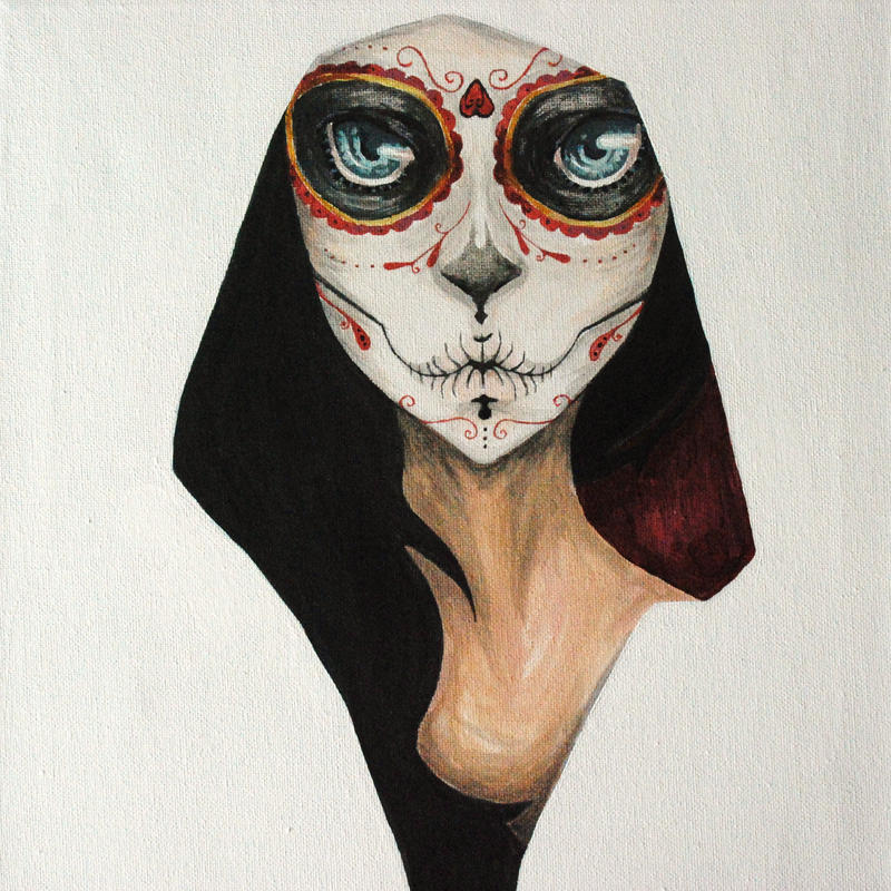 Day Of The Dead By Allieliz