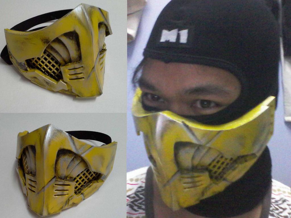 Как сделать маску скорпиона из бумаги своими руками 42