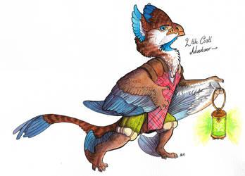 Little Coatl Adventurer by Weeburdoodles
