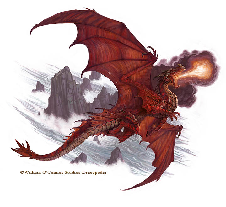 Great Red Dragon by wocstudios