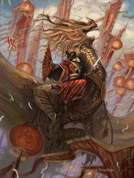 The Golden Dragon by wocstudios