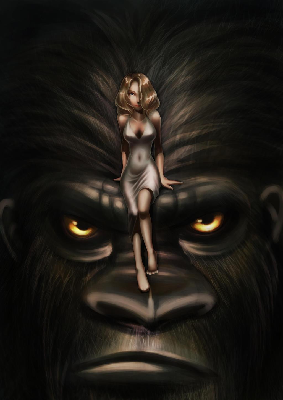 Kong's worship by harukina