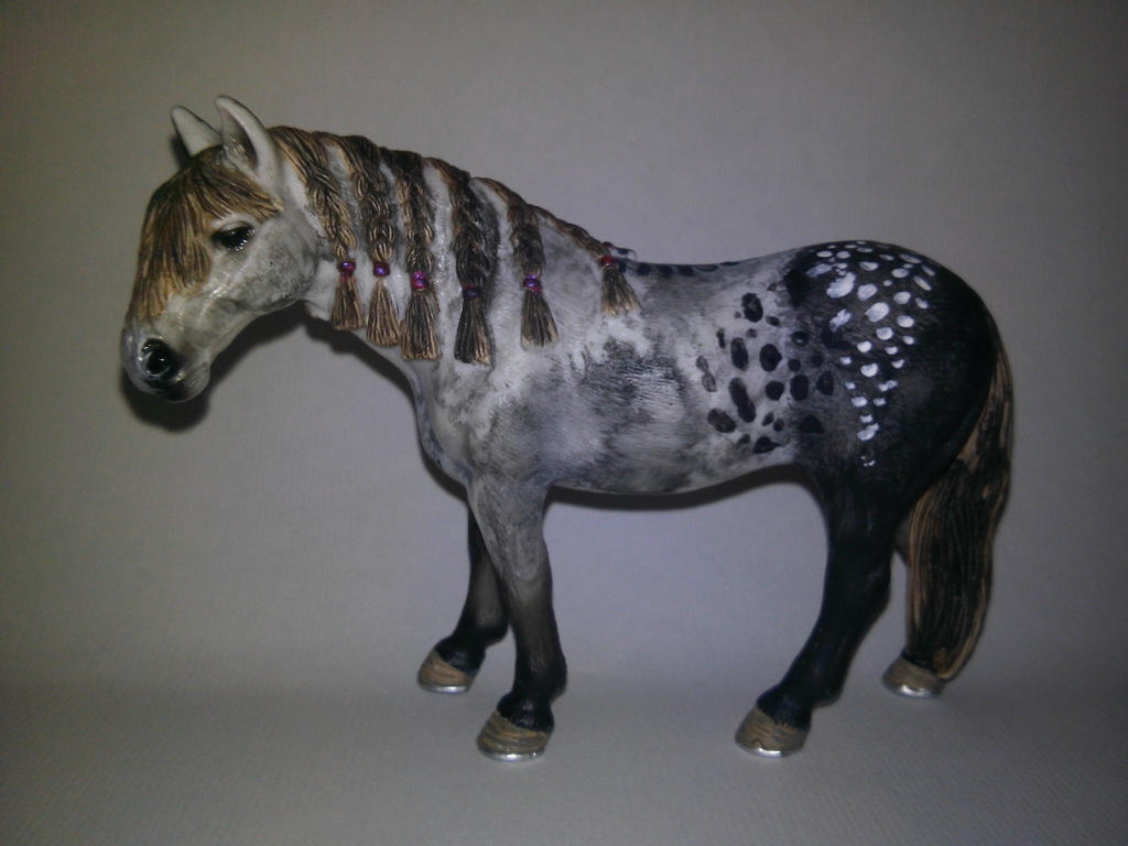 Schleich Horse Repaint Left Side Name Misty By Sufaria On