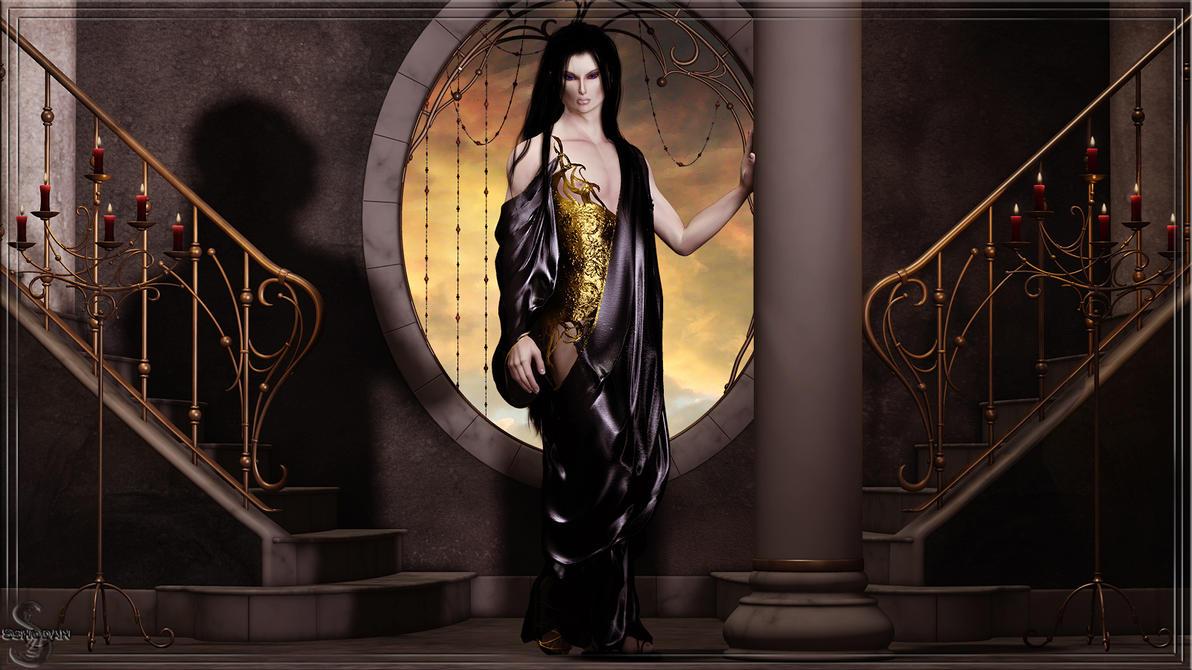 Drape Robe (1600x900) by Sshodan
