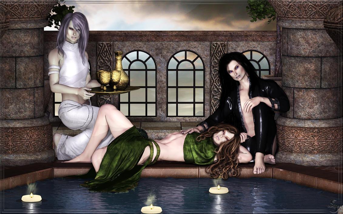 Pool by Sshodan