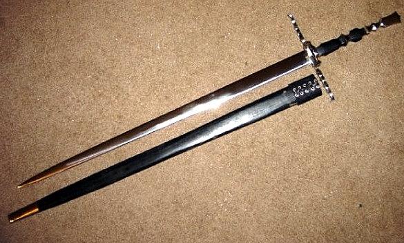 Gothic Bastard Sword by HellfireForge