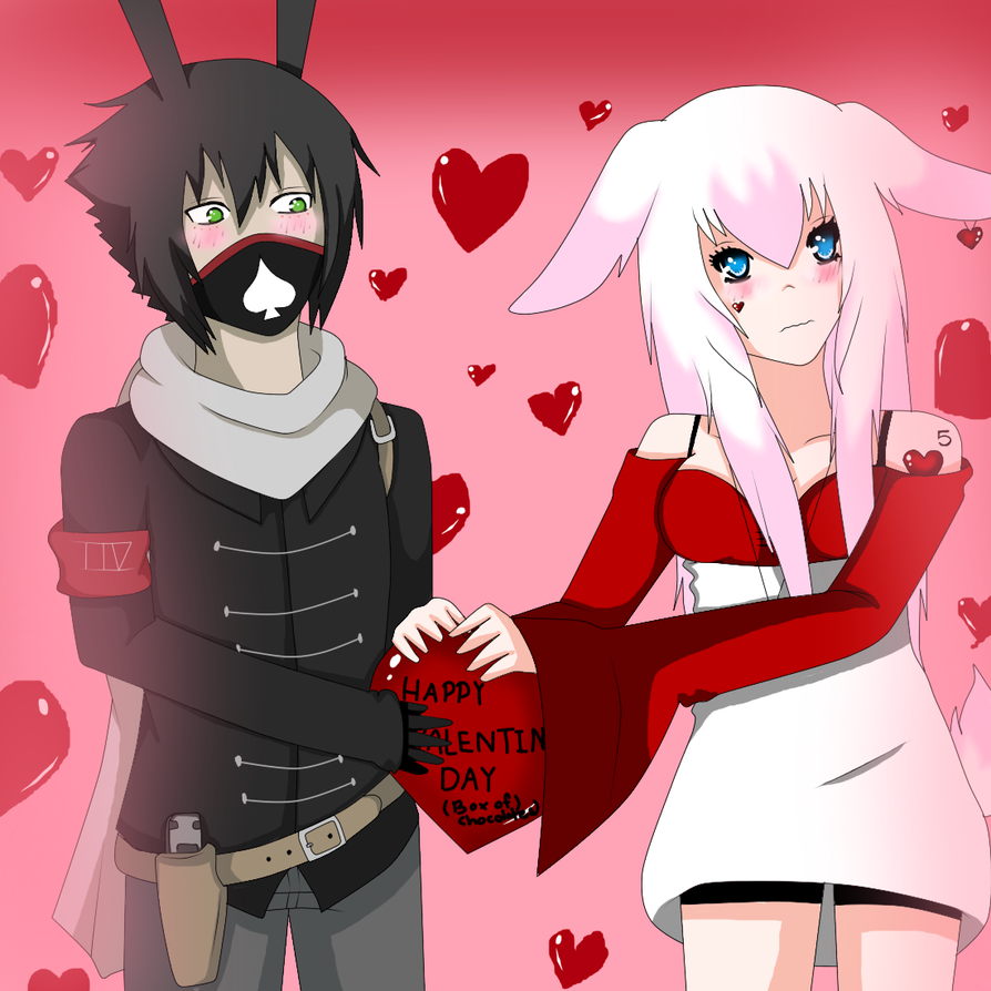 BJBB: H-Here Happy Valentines. by Lolalilacs